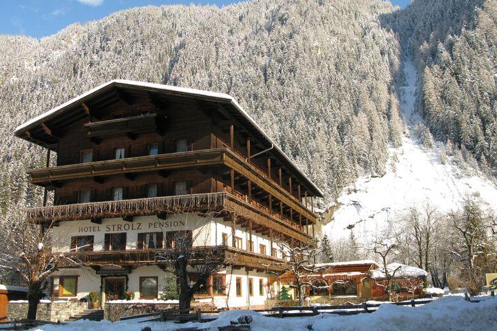 Enkelt hotell Mayrhofen