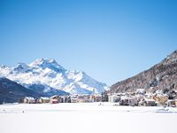 Skigebiet Silvaplana