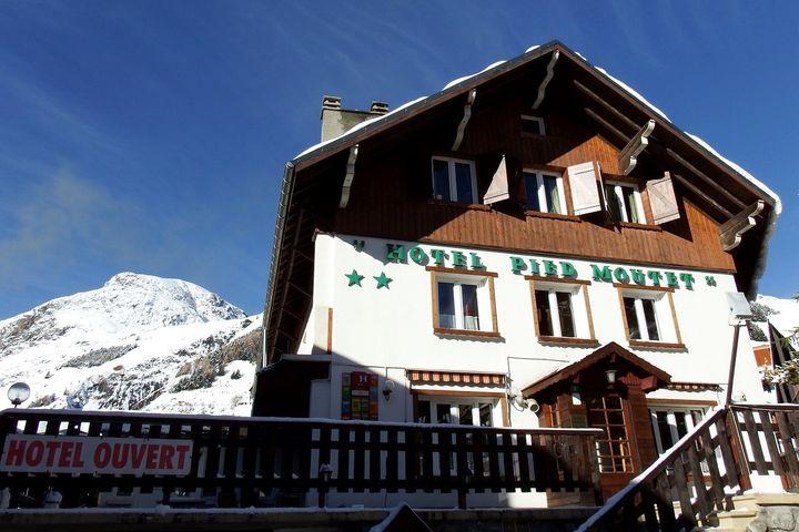 Hotel hotel le pied moutet les deux alpes j2ski for Hotels 2 alpes