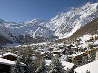 Skigebiet Saas-Fee,