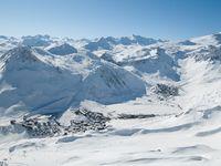 Skigebiet Tignes