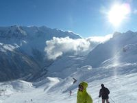 Skigebiet Vallorcine