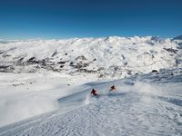 Skigebiet Les Menuires,