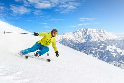 Ski areas for experts
