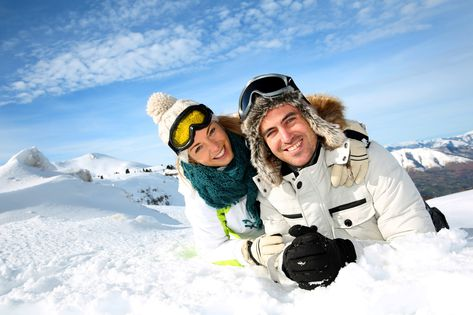 Travelling as a couple - romantic ski trips for lovers