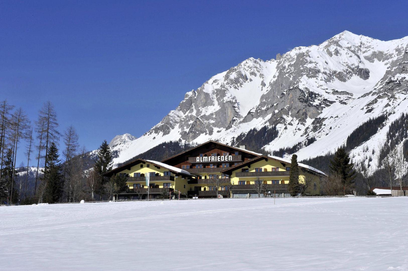 Meer info over Hotel Almfrieden  bij Wintertrex