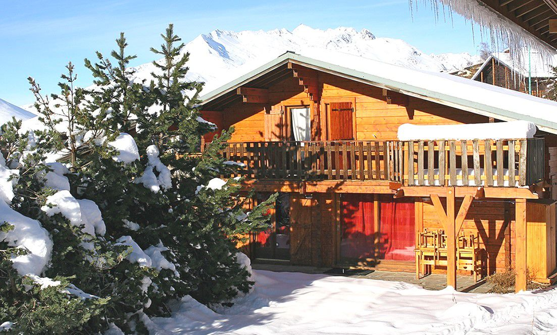 chalet soleil dhiver