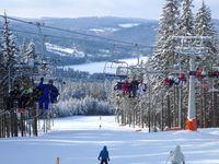 Skigebiet Frymburk
