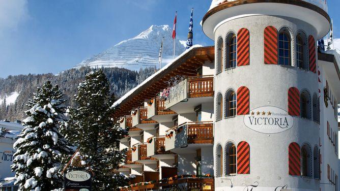 Unterkunft Turmhotel Victoria, Davos,