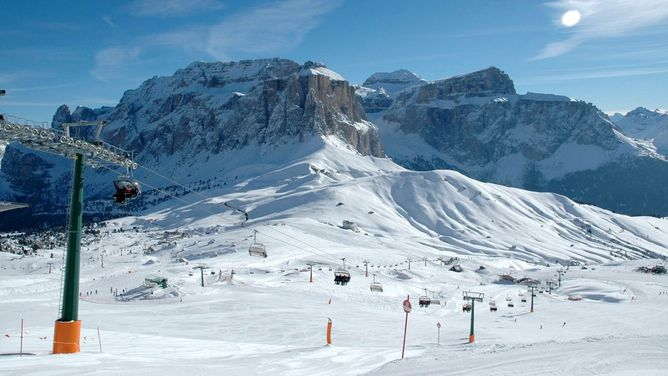 Ski area Alba Rating Val di FassaCarezza Test report Piste map