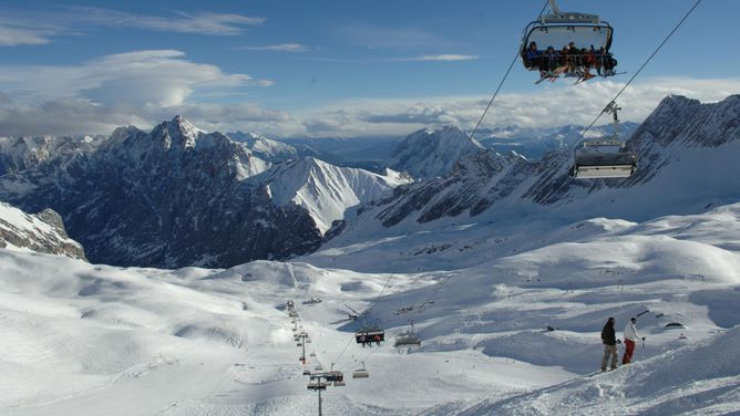 Skigebiet Garmisch Partenkirchen Bewertung Garmisch Classic Zugspitze Testbericht Pistenplan