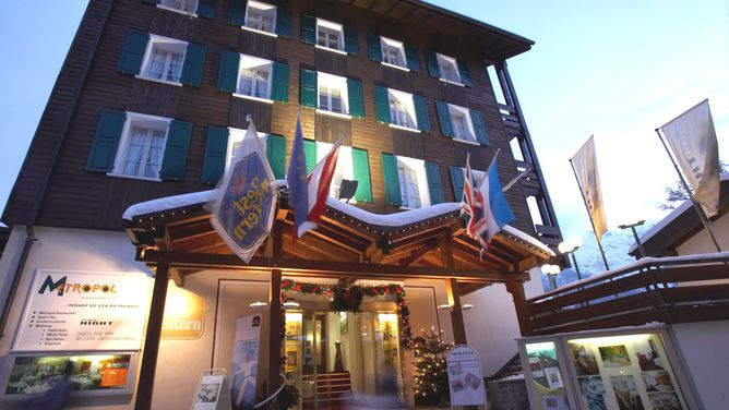 Unterkunft Best Western Metropol Grand Hotel, Saas-Fee,