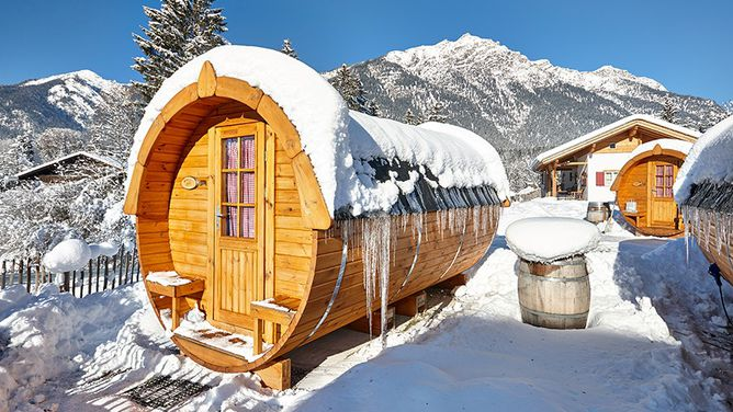 Unterkunft Camping Zugspitze (Schlaffass), Grainau,