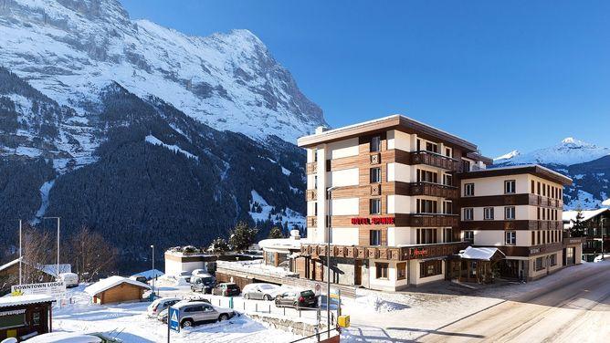Unterkunft Hotel Spinne, Grindelwald,