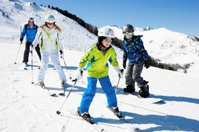 Ski areas for beginners - wide and easy pistes!