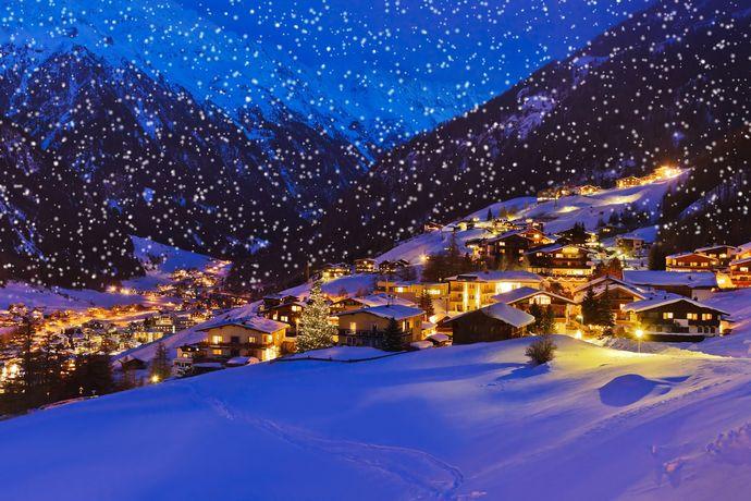 Weiße Weihnachten Sportliche Festtage im Schnee