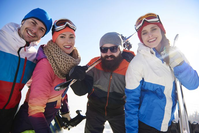 Group ski holidays - hit the pistes together!