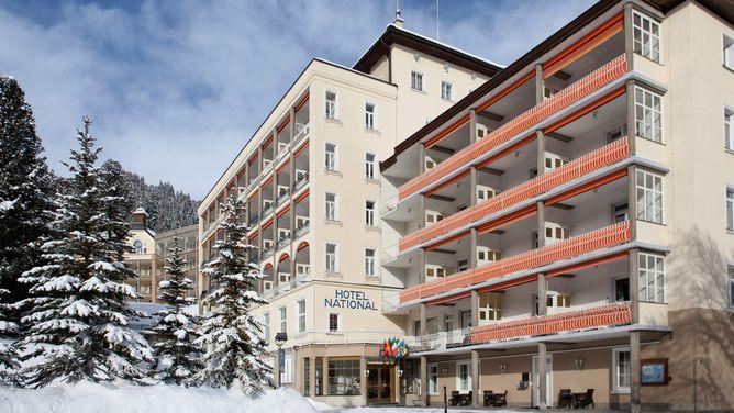 Unterkunft Hotel National, Davos,
