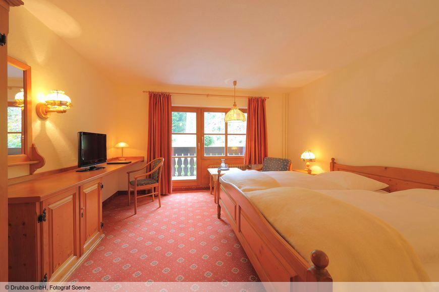 Doppelzimmer/Zustellb. Du/WC (Komfort), HP_1