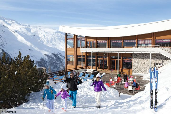 hotel neige et ciel