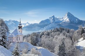 Berchtesgadener Land – every resort like a postcard picture