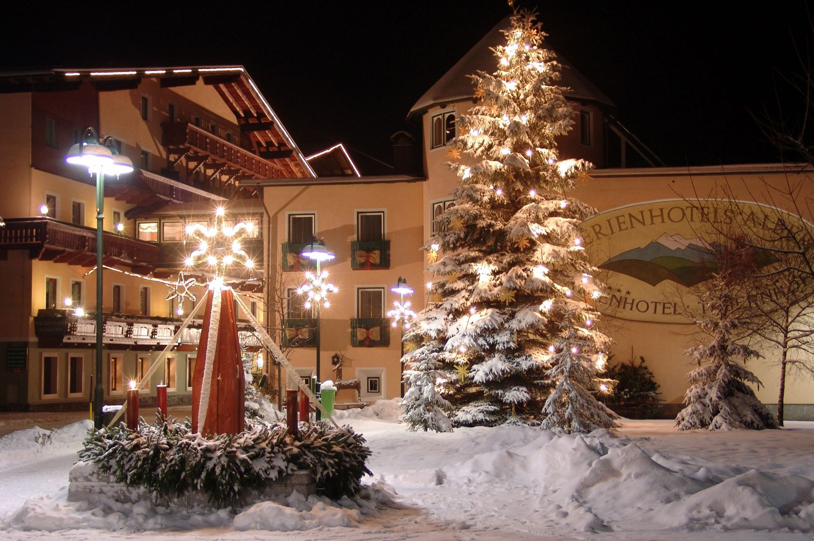 Feriehotel Alber Alpen...
