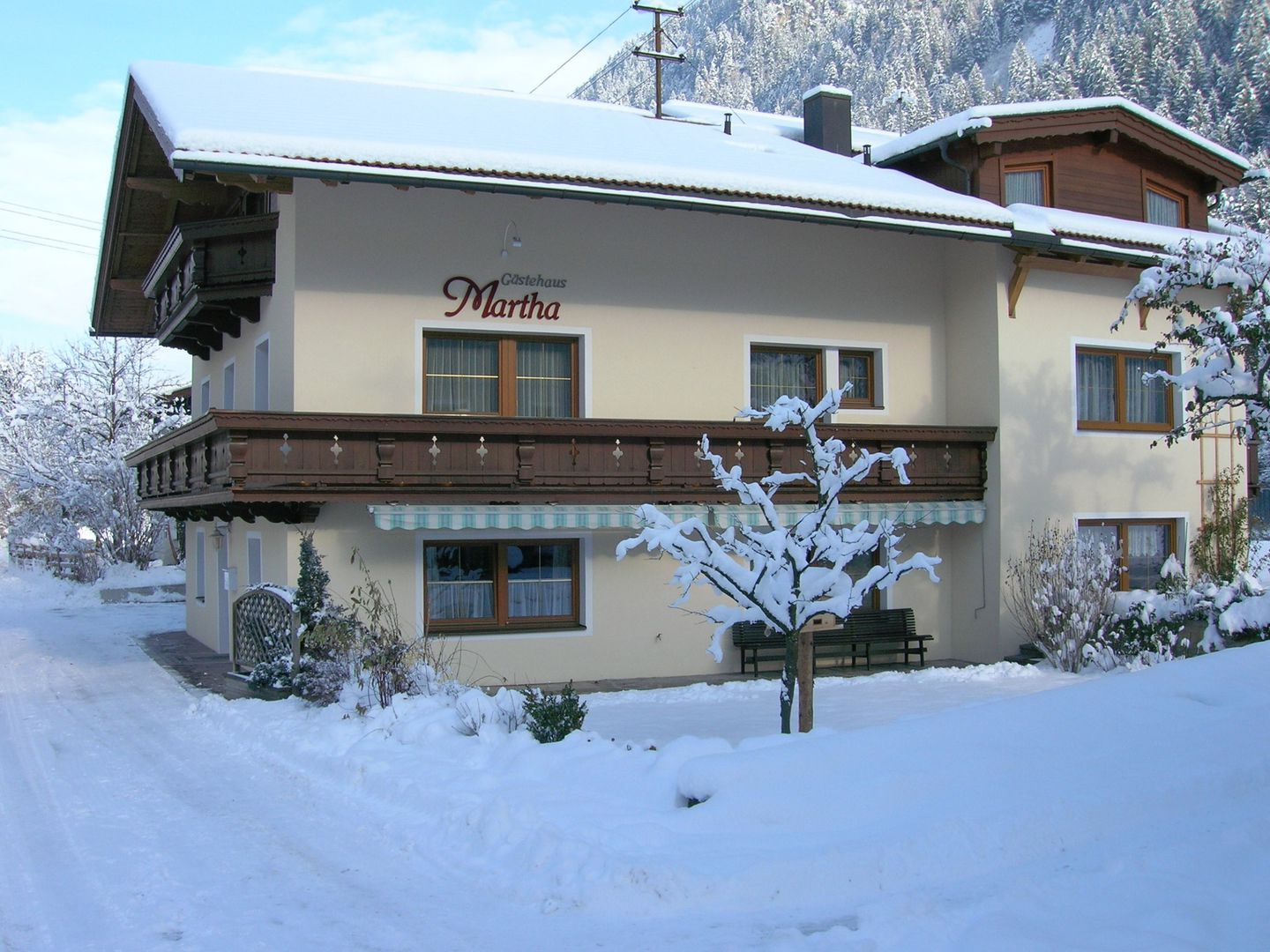 Bekijk informatie over Gastehaus Martha (Adults Only) -  appartement inMayrhofen