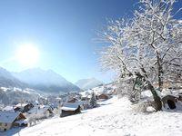 Skigebiet Hirschegg