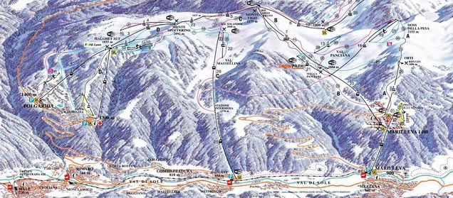 Ski area Marilleva 1400 Rating Folgarida Marilleva Test report