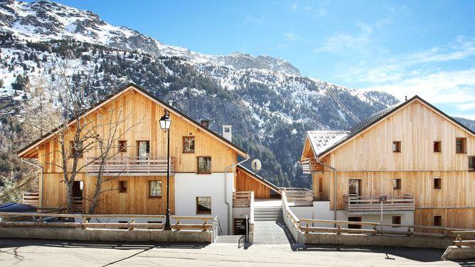 Unterkunft Résidence Le Crystal Blanc, Vaujany (Alpe d'Huez),