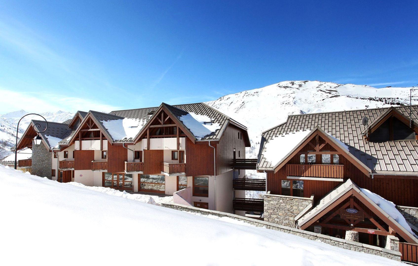 residence lecrin des neiges
