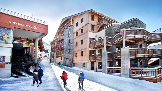 Accommodation in Belle Plagne