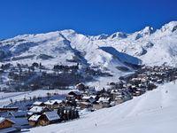 Skigebiet Saint Sorlin (Les Sybelles)