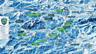 Waidring Steinplatte Skigebiet Winterurlaub Skireisen Inkl