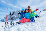 Ski holiday with high children's discounts