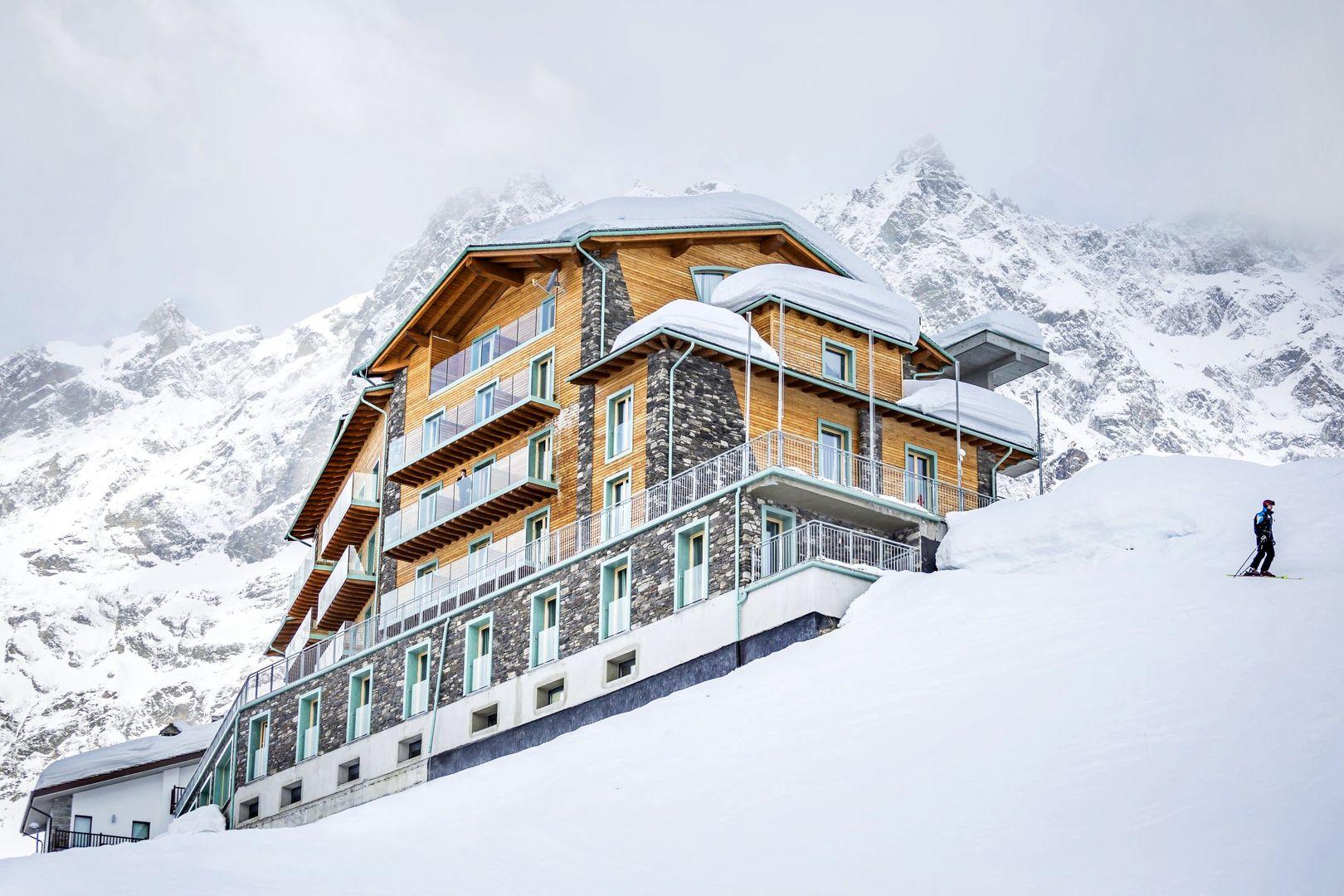 luxury hotel : white angel hotel, breuil-cervinia   j2ski