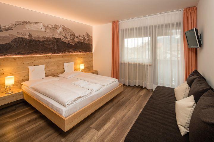 Doppelzimmer/2 Zustellb. Du/WC (Mühlenrad), HP PLUS