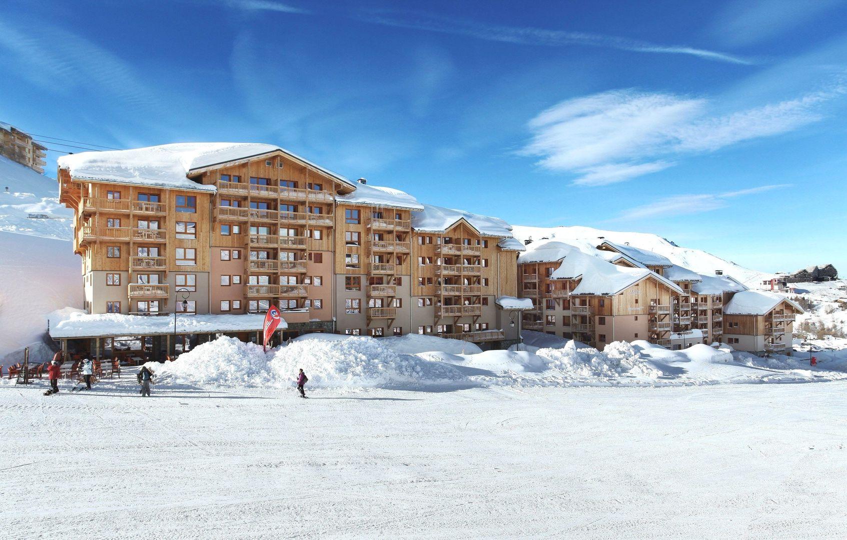 residence prestige front de neige