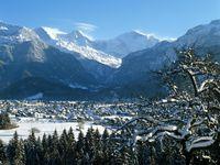 Skigebiet Interlaken