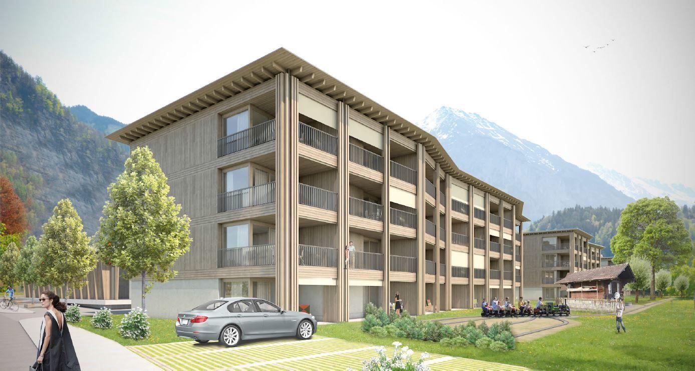 Holiday apartment 4-Pers.-Appartement (ca. 38 m²), OV, Swisspeak Resort Meiringen (2650375), Meiringen, Meiringen - Hasliberg, Bernese Oberland, Switzerland, picture 1