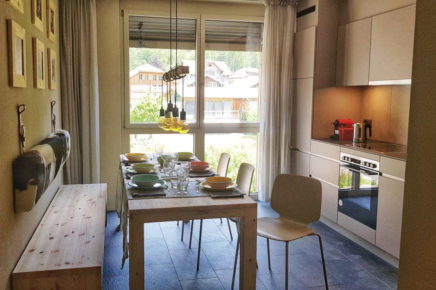 Holiday apartment 4-Pers.-Appartement (ca. 38 m²), OV, Swisspeak Resort Meiringen (2650375), Meiringen, Meiringen - Hasliberg, Bernese Oberland, Switzerland, picture 3