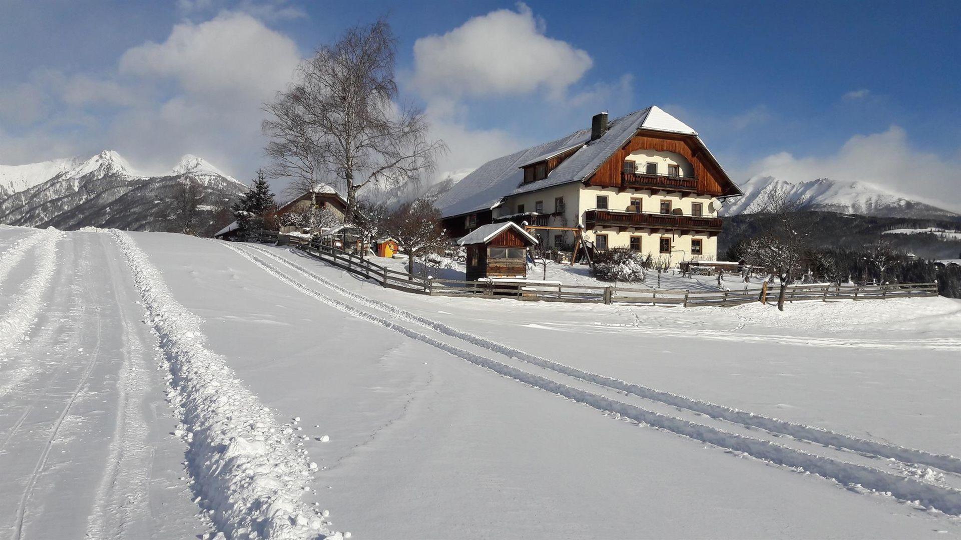 Appartement de vacances 2-Pers.-Studio (ca. 14 m², Bergeblick), OV, Restlhof (2327413), Mariapfarr, Lungau, Salzbourg, Autriche, image 1