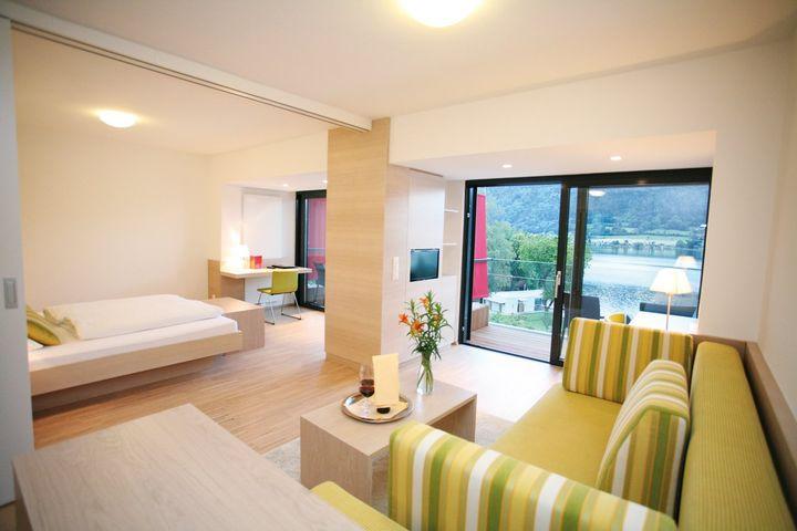 Einzelzimmer Du/WC (ca. 16 m²), HP PLUS