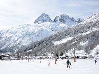 Skigebiet Courmayeur,