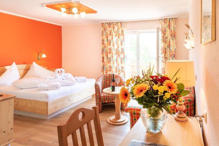 Doppelzimmer/Zustellb. Du/WC (Standard, max. 2 Erw. + 1 Kind), HP