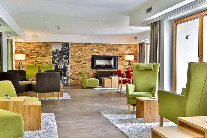 Doppelzimmer Du/WC (Komfort, ca. 28 m²), HP