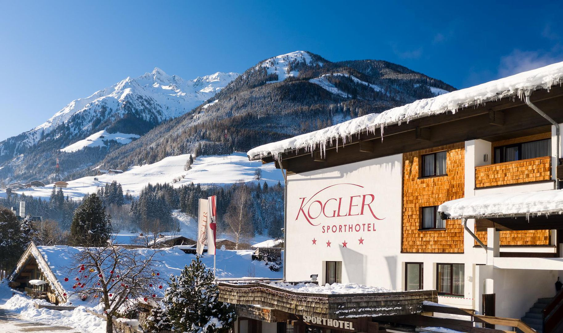 Meer info over Sporthotel Kogler  bij Wintertrex