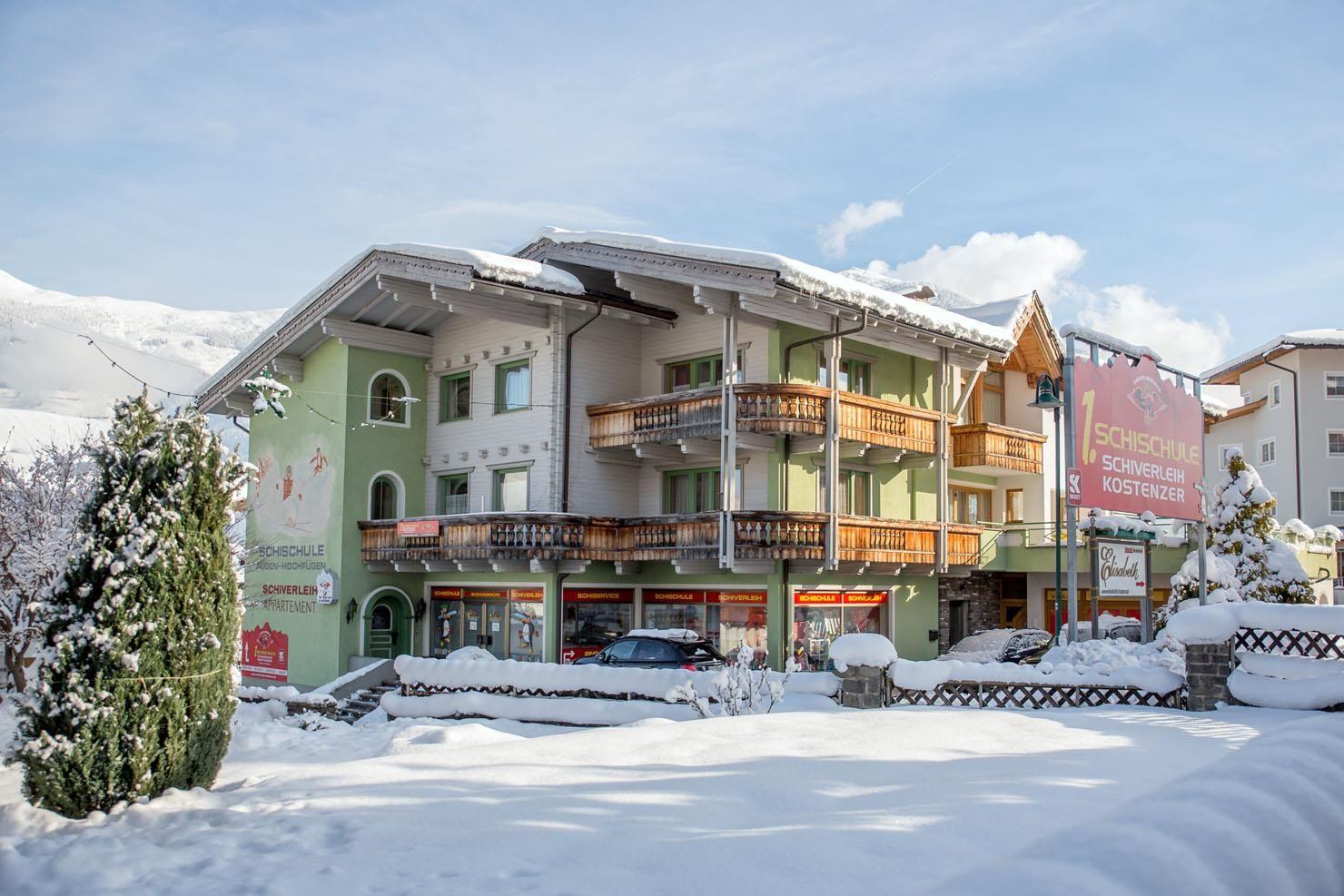 Meer info over Appartement Kostenzer  bij Wintertrex