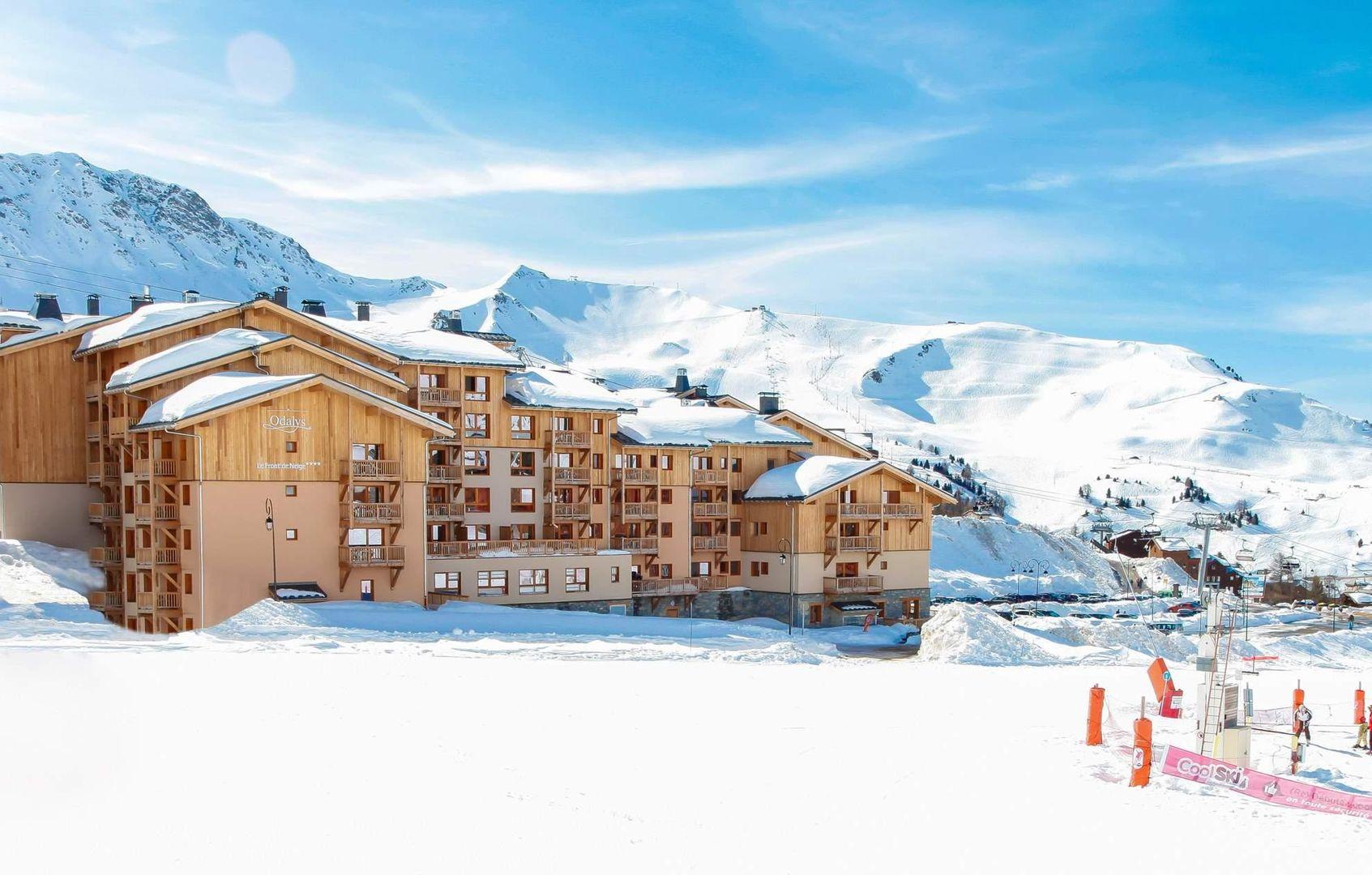 Meer info over Résidence Prestige Front de Neige  bij Wintertrex