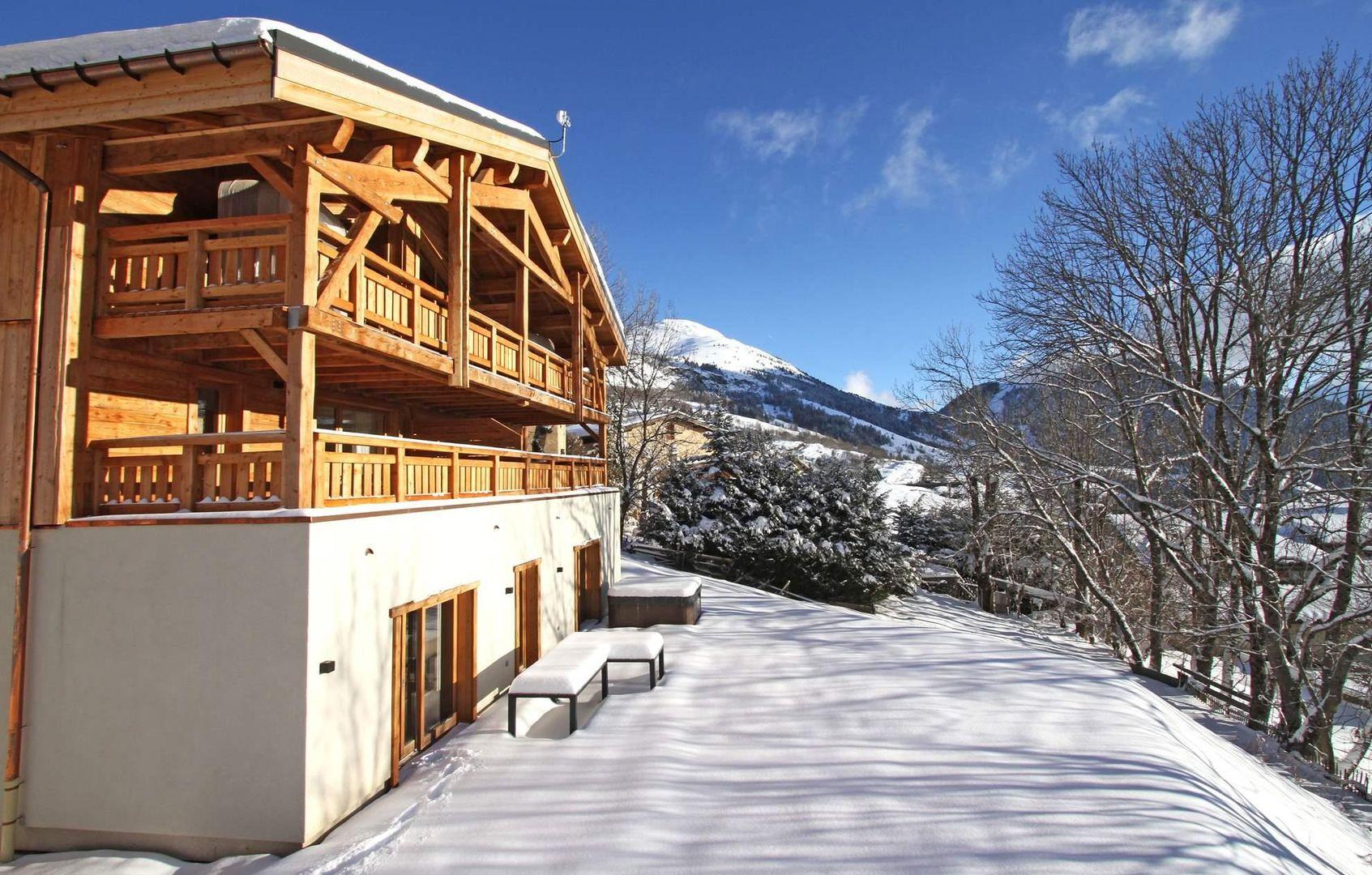 Alpe d'Huez - Chalet Nuance de Blanc